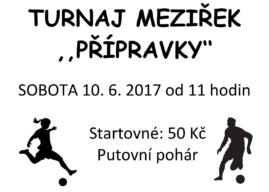 Meziřeky 2017 – turnaj přípravek